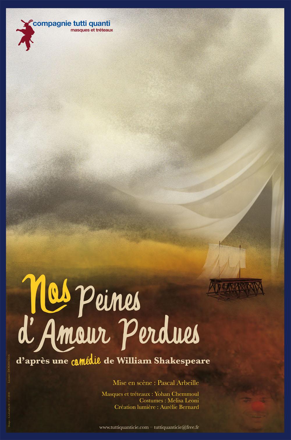 image illustration deNos Peines d'amour perdues