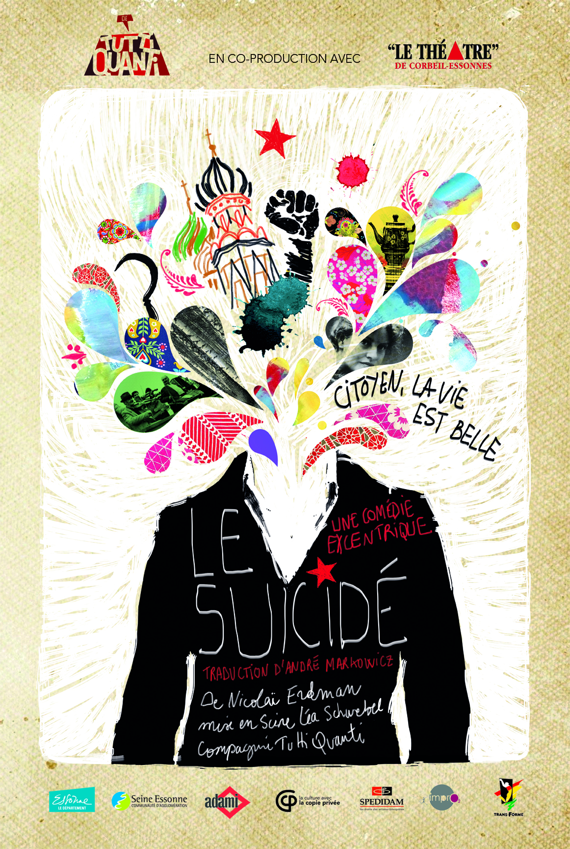 image illustration deLe Suicidé